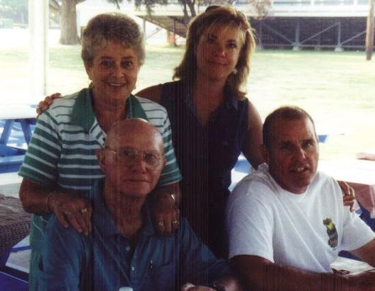 Walter Wagner and wife Nancy, Son Guy Wagner and wife Linda
